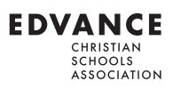 Edvance Christian Schools logo and link to website