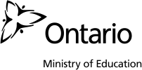 Ontario Ministry of Education Logo and link to website